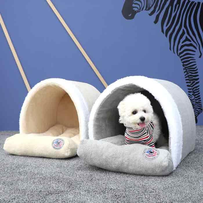 레드퍼피 윌튼 스넉워머 동글이 반려동물 하우스
